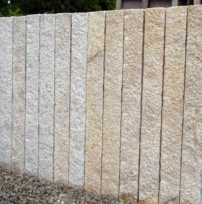ott naturstein in ha furt naturstein granitpflaster mauerstein palisaden granit gelb. Black Bedroom Furniture Sets. Home Design Ideas